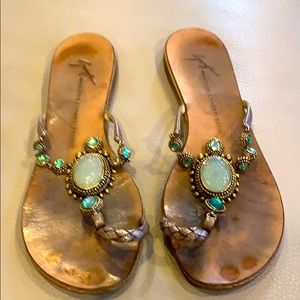 Woman designer sandals, Giuseppe zanotto design,
